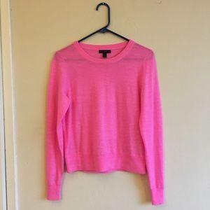 Magenta sweater 🌷 J. Crew